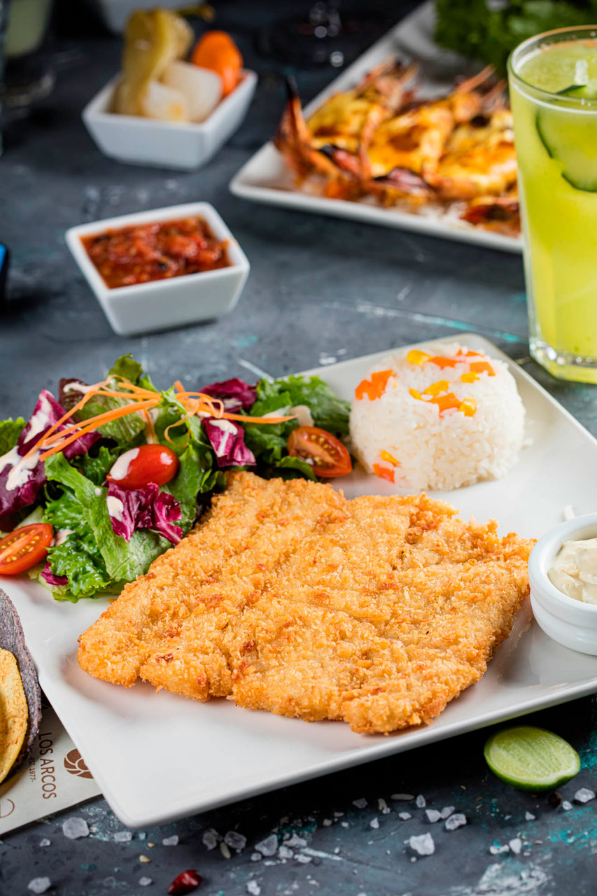 Filete de pescado empanizado